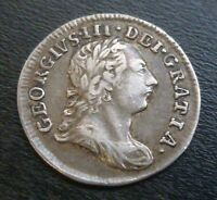 GEORGE III MAUNDY TWOPENCE SILVER 1784