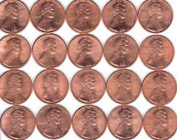 1990  TO  1999 P&D   COMPLETE LINCOLN CENT 20 PC  CHC  UNC  SET    MAKE AN OFFER