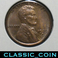 1929-D LINCOLN WHEAT CENT 1C SLIDER UNCIRCULATED FREE S/H