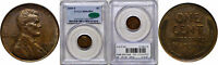 1919-S LINCOLN CENT PCGS MINT STATE 64 BN CAC
