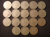 SET OF 15 LIBERTY NICKELS  3 EXTRA 1898-1912