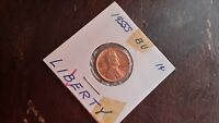 1955 S LINCOLN WHEAT  PENNY  BU LIBERTY