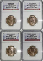 2008 ANNUAL P & D PRESIDENTIAL 8-COIN SET MINT STATE 65 FIRST DAY OF ISSUE