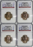 2008 ANNUAL P & D PRESIDENTIAL 8-COIN SET MINT STATE 66 FIRST DAY OF ISSUE