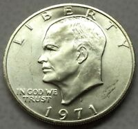 1971 S EISENHOWER SILVER DOLLAR U.S. COIN  FREE SHIP