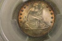 1888 25C LIBERTY SEATED QUARTER PCGS MINT STATE 66