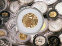 AIR TITE  COIN PROTECTORS FOR GOLD MAPLE LEAF COINS 1/20  1/10  1/4  1/2  1OZ