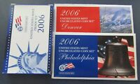 2006 P/D/S US MINT PROOF & UNCIRCULATED SET IN ORIGINAL MINT PACKAGE & COA