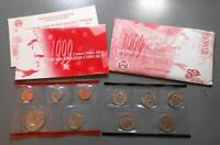 1999 D UNITED STATES MINT SET 9 UNCIRCULATED COINS FIRST 9 STATE QUARTERS