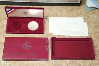 1983 S $1 OLYMPIC CA  PROOF  SILVER COIN W/ BOX & COA