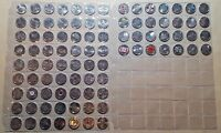 CANADA   COMPLETE 91 COIN 1967   2017 COMMEMORATIVE QUARTER COLLECTION UNC BU