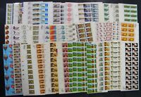 DRBOBSTAMPS US MNH PLATE  STRIP POSTAGE COLLECTION FACE $502