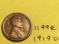 1919 D LINCOLN CENT   FROM THE PREMIUM WHEAT COLLECTION 1199E