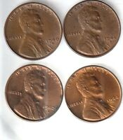 1940D 1941D 1942D 1944D 1945D 1946D 1947D 1948D BRILLIANT LINCOLN CENTS  103101