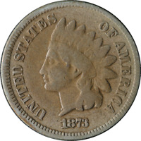 1873 INDIAN CENT GREAT DEALS FROM THE TECC BARGAIN BIN
