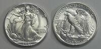 X619  1941 LIBERTY WALKING HALF DOLLAR 50C, CHOICE BU