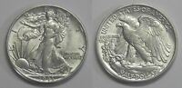 X621  1943 LIBERTY WALKING HALF DOLLAR 50C, BU