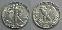 X623  1942 LIBERTY WALKING HALF DOLLAR 50C, AU/BU