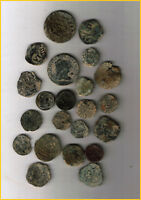 LOT 22 SPANISH COLONIAL PIRATE TREASURE COINS  A  CENTURIES