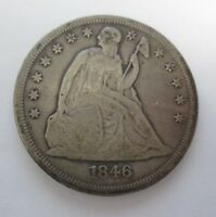 1846 LIBERTY SEALED DOLLAR CIRC