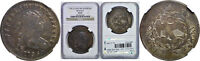 1796 BUST DOLLAR NGC EXTRA FINE -45 LARGE DATE SMALL LETTERS BB-65, B-5