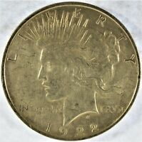 1922-D COLLECTIBLE SILVER PEACE DOLLAR B13.11