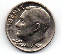 1979 USA ONE DIME COIN COLLECTABLE AS PER SCANNED IMAGE