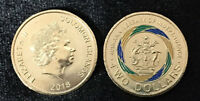 SOLOMON ISLANDS 2 DOLLAR 40TH INDEPENDENCE COMM. 2018 COLORIZED COIN UNC