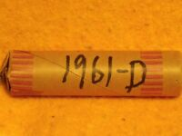 1961 D LINCOLN CENT ROLL