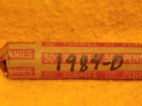 1984 D LINCOLN CENT ROLL