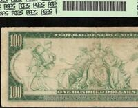 LARGE 1914 $100 DOLLAR BILL BIG FEDERAL RESERVE NOTE PAPER MONEY FR 1088 PCGS