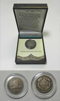1857 FLYING EAGLE CENT, AMERICA'S FIRST SMALL SIZE CENT WITH GIFT BOX AND COA