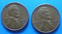1949-S 1950-S  LINCOLN HEAD CENT   2 COINS  'SAVE'     ''