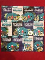 COMPLETE SET OF 12 X 2018 COMMONWEALTH GAMES BOROBI $1 COINS