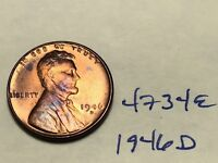 1946 D LINCOLN CENT WHEAT CENT 1C