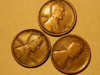 1916, 1916D & 1916S LINCOLN CENT