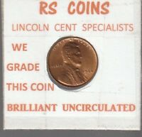 1944  BRILLIANT UNCIRCULATED  LINCOLN CENT  LOW  PRICED   RS COINS 102427