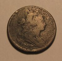 1798 DRAPED BUST LARGE CENT PENNY   CIRCULATED CONDITION   3