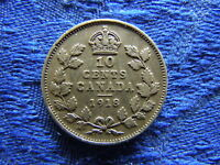 CANADA 10 CENTS 1918 KM23
