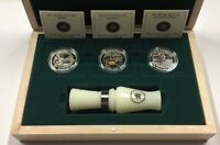 CANADA 2013 $10 DUCKS OF CANADA WITH DUCK CALL COIN SET