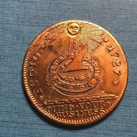 1787 COLONIAL FUGIO CENT UNITED STATES