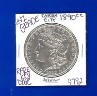 1890 CC MORGAN SILVER DOLLAR HI GRADE GENUINE U.S. MINT  KEY