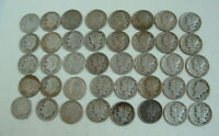1920S THRU 1950S MERCURY AND ROOSEVELT   DIME COLLECTION ALL