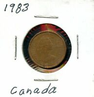 1983 CANADIAN PENNY 1C COIN JA636