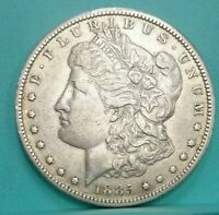 1885 CC MORGAN SILVER DOLLAR HIGH GRADE NICE DETAILS