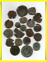 VERY NICE LOT 20 SPANISH COIN PIRATE COLONIAL
