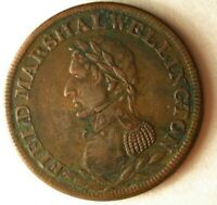 1814 LOWER CANADA 1/2 PENNY   WELLINGTON   HIGH QUALITY RARE