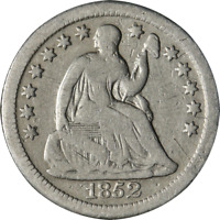 1852-O SEATED LIBERTY HALF DIME GREAT DEALS FROM THE EXECUTIVE COIN COMPANY