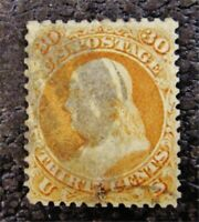NYSTAMPS US STAMP  71 USED $180