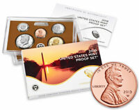 2019 S US CLAD PROOF COIN SET   2019 W PROOF LINCOLN CENT NOT SEALED SKU57919